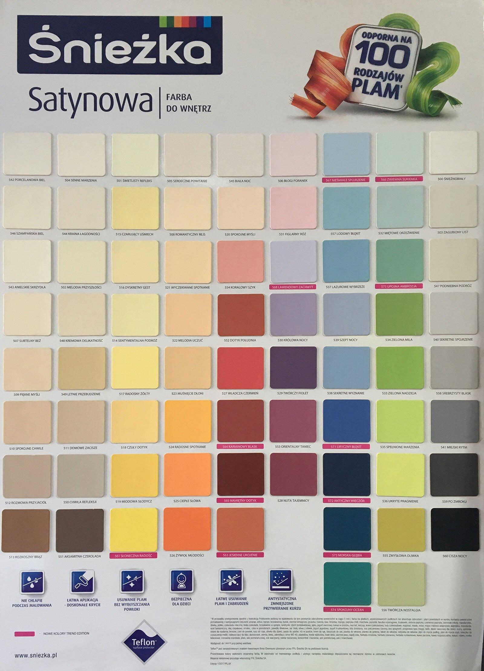 wzornik kolorów farb radom