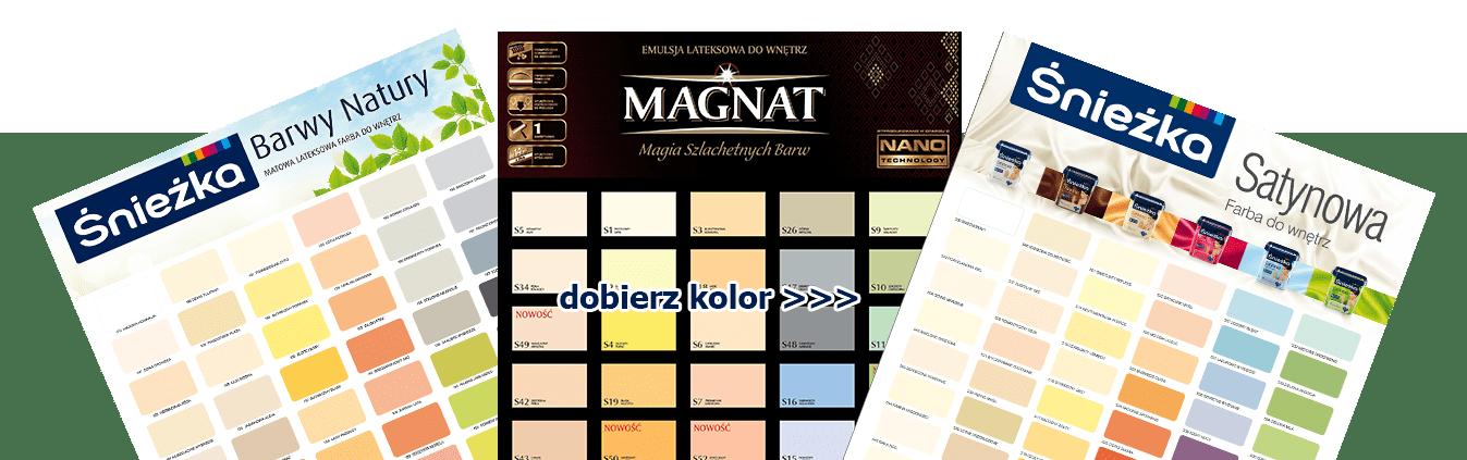farby radom wzorniki kolorów